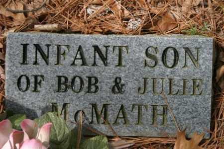 MCMATH, INFANT SON - Franklin County, Arkansas | INFANT SON MCMATH - Arkansas Gravestone Photos
