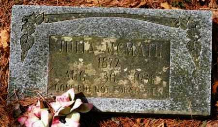 MCMATH, JULIA - Franklin County, Arkansas | JULIA MCMATH - Arkansas Gravestone Photos