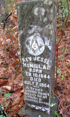 MCMILLAN, JESSE, REV - Franklin County, Arkansas | JESSE, REV MCMILLAN - Arkansas Gravestone Photos