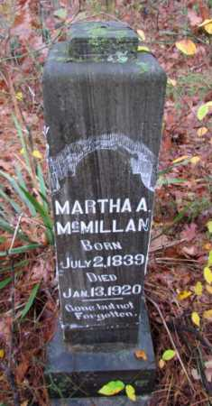 MCMILLAN, MARTHA A - Franklin County, Arkansas | MARTHA A MCMILLAN - Arkansas Gravestone Photos
