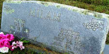 MILAM, IRL H - Franklin County, Arkansas | IRL H MILAM - Arkansas Gravestone Photos