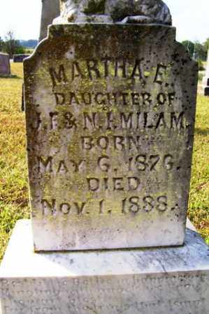 MILAM, MARTHA E - Franklin County, Arkansas | MARTHA E MILAM - Arkansas Gravestone Photos