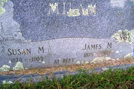 MILAM, JAMES M - Franklin County, Arkansas | JAMES M MILAM - Arkansas Gravestone Photos