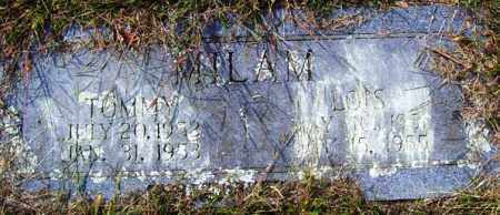 MILAM, TOMMY - Franklin County, Arkansas | TOMMY MILAM - Arkansas Gravestone Photos
