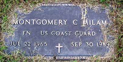 MILAM (VETERAN), MONTGOMERY C - Franklin County, Arkansas | MONTGOMERY C MILAM (VETERAN) - Arkansas Gravestone Photos