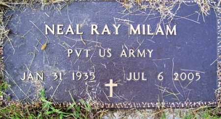 MILAM (VETERAN), NEAL RAY - Franklin County, Arkansas | NEAL RAY MILAM (VETERAN) - Arkansas Gravestone Photos