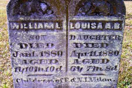 MILAM, WILLIAM L. - Franklin County, Arkansas | WILLIAM L. MILAM - Arkansas Gravestone Photos