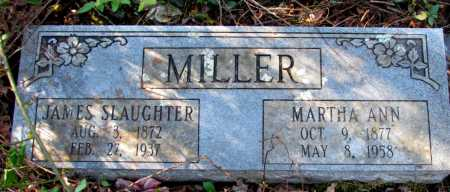 MILLER, JAMES SLAUGHTER - Franklin County, Arkansas | JAMES SLAUGHTER MILLER - Arkansas Gravestone Photos