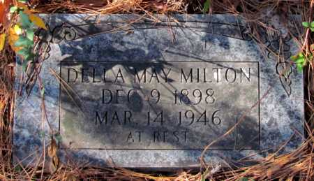 MILTON, DELLA MAY - Franklin County, Arkansas | DELLA MAY MILTON - Arkansas Gravestone Photos