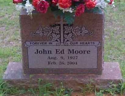 MOORE, JOHN ED - Franklin County, Arkansas | JOHN ED MOORE - Arkansas Gravestone Photos