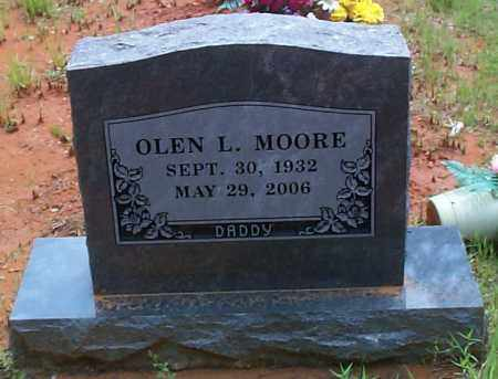 MOORE, OLEN L - Franklin County, Arkansas | OLEN L MOORE - Arkansas Gravestone Photos