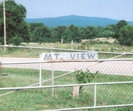 *MOUNTAIN VIEW CEMETERY SIGN,  - Franklin County, Arkansas |  *MOUNTAIN VIEW CEMETERY SIGN - Arkansas Gravestone Photos