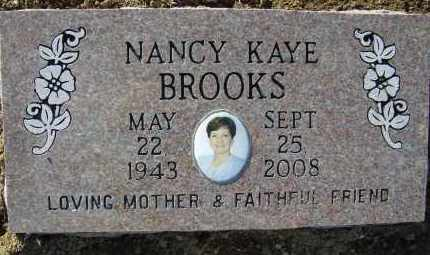 BROOKS, NANCY KAYE - Franklin County, Arkansas | NANCY KAYE BROOKS - Arkansas Gravestone Photos