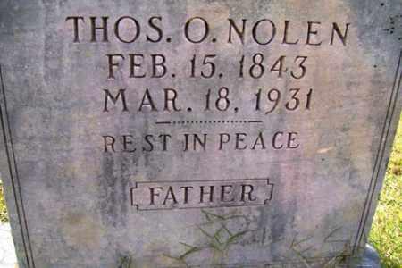 NOLEN, THOMAS O. - Franklin County, Arkansas | THOMAS O. NOLEN - Arkansas Gravestone Photos