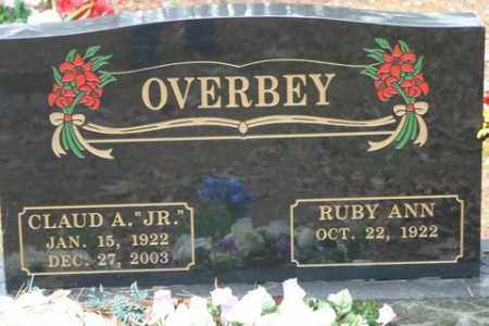 OVERBEY, JR, CLAUD A - Franklin County, Arkansas | CLAUD A OVERBEY, JR - Arkansas Gravestone Photos