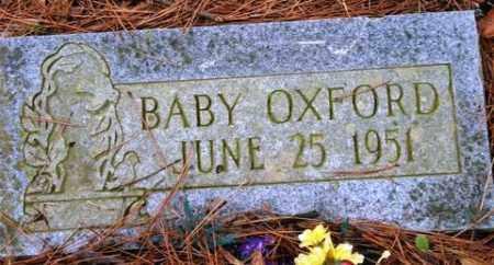 OXFORD, BABY - Franklin County, Arkansas | BABY OXFORD - Arkansas Gravestone Photos