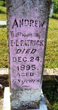 PATRICK, ANDREW - Franklin County, Arkansas | ANDREW PATRICK - Arkansas Gravestone Photos