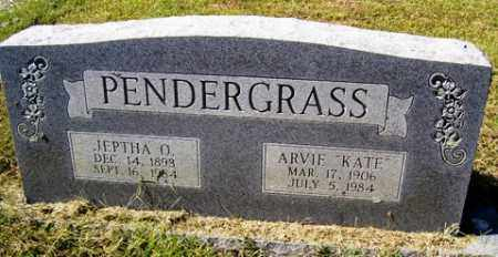 "PENDERGRASS, ARVIE ""KATE"" - Franklin County, Arkansas 