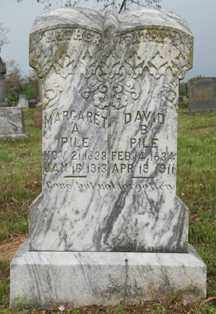 PILE, MARGARET ANN - Franklin County, Arkansas | MARGARET ANN PILE - Arkansas Gravestone Photos