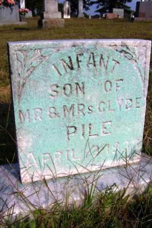 PILE, INFANT SON - Franklin County, Arkansas | INFANT SON PILE - Arkansas Gravestone Photos