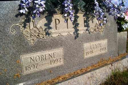 PILE, NORENE - Franklin County, Arkansas | NORENE PILE - Arkansas Gravestone Photos