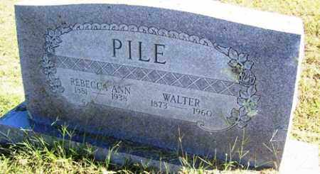 PILE, REBECCA ANN - Franklin County, Arkansas | REBECCA ANN PILE - Arkansas Gravestone Photos
