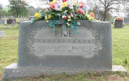 PILE, REBECCA - Franklin County, Arkansas | REBECCA PILE - Arkansas Gravestone Photos