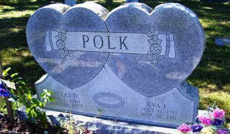 COX POLK, EVA E - Franklin County, Arkansas | EVA E COX POLK - Arkansas Gravestone Photos
