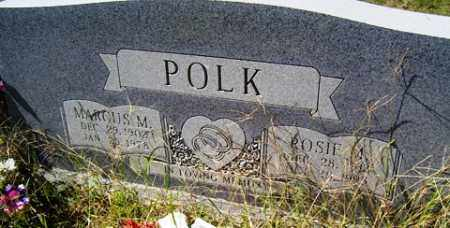 POLK, MARCUS M. - Franklin County, Arkansas | MARCUS M. POLK - Arkansas Gravestone Photos