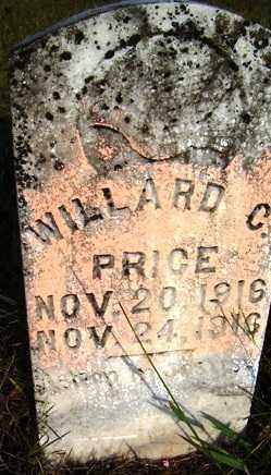 PRICE, WILLARD C. - Franklin County, Arkansas | WILLARD C. PRICE - Arkansas Gravestone Photos