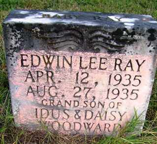 RAY, EDWIN LEE - Franklin County, Arkansas | EDWIN LEE RAY - Arkansas Gravestone Photos