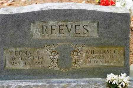 REEVES, EDNA J - Franklin County, Arkansas | EDNA J REEVES - Arkansas Gravestone Photos
