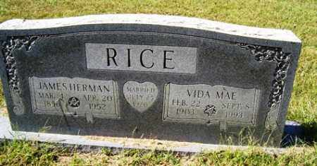 RIPPY RICE, VIDA MAE - Franklin County, Arkansas | VIDA MAE RIPPY RICE - Arkansas Gravestone Photos
