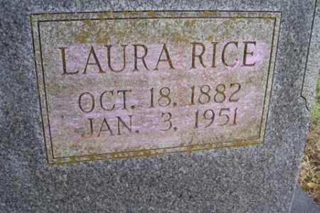 RICE, LAURA - Franklin County, Arkansas | LAURA RICE - Arkansas Gravestone Photos