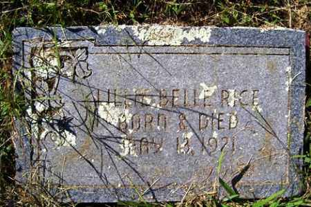 RICE, LILLIE BELLE - Franklin County, Arkansas | LILLIE BELLE RICE - Arkansas Gravestone Photos