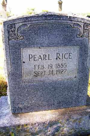 RICE, PEARL - Franklin County, Arkansas | PEARL RICE - Arkansas Gravestone Photos