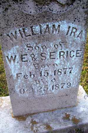 RICE, WILLIAM IRA - Franklin County, Arkansas | WILLIAM IRA RICE - Arkansas Gravestone Photos