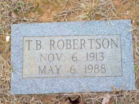 ROBERTSON, T  B - Franklin County, Arkansas | T  B ROBERTSON - Arkansas Gravestone Photos