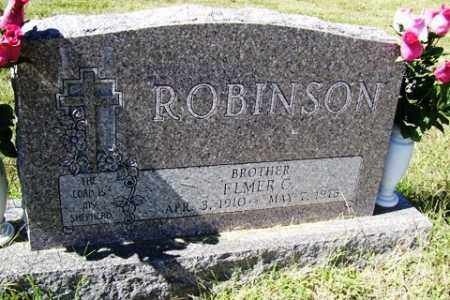 ROBINSON, ELMER C. - Franklin County, Arkansas | ELMER C. ROBINSON - Arkansas Gravestone Photos