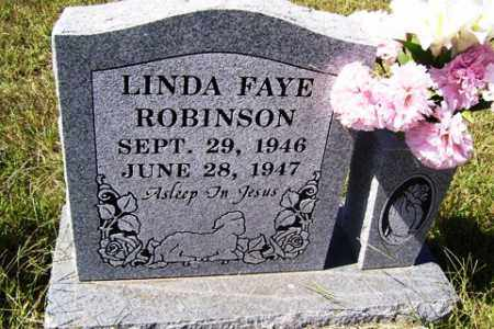 ROBINSON, LINDA FAYE - Franklin County, Arkansas | LINDA FAYE ROBINSON - Arkansas Gravestone Photos
