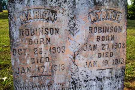 ROBINSON, MARION - Franklin County, Arkansas | MARION ROBINSON - Arkansas Gravestone Photos