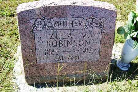 ROBINSON, ZUA M - Franklin County, Arkansas | ZUA M ROBINSON - Arkansas Gravestone Photos