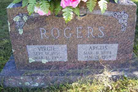 ROGERS, VIRGIE A. - Franklin County, Arkansas | VIRGIE A. ROGERS - Arkansas Gravestone Photos