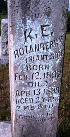 ROTANBERRY, K. E. - Franklin County, Arkansas | K. E. ROTANBERRY - Arkansas Gravestone Photos