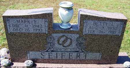 SEIFERT, BETTY L - Franklin County, Arkansas | BETTY L SEIFERT - Arkansas Gravestone Photos