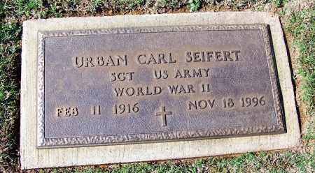 SEIFERT (VETERAN WWII), URBAN CARL - Franklin County, Arkansas | URBAN CARL SEIFERT (VETERAN WWII) - Arkansas Gravestone Photos