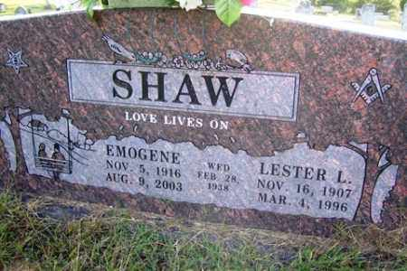 SHAW, LESTER LOYD - Franklin County, Arkansas | LESTER LOYD SHAW - Arkansas Gravestone Photos