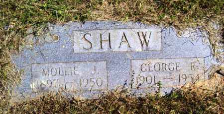 SHAW, GEORGE ROOSEVELT - Franklin County, Arkansas | GEORGE ROOSEVELT SHAW - Arkansas Gravestone Photos
