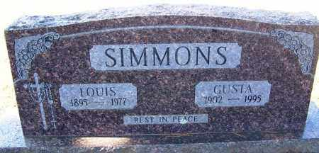 SIMMONS, LOUIS - Franklin County, Arkansas | LOUIS SIMMONS - Arkansas Gravestone Photos