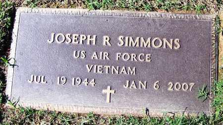 SIMMONS (VETERAN VIET), JOSEPH R - Franklin County, Arkansas | JOSEPH R SIMMONS (VETERAN VIET) - Arkansas Gravestone Photos